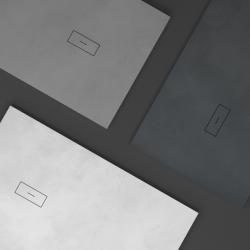 Plato de ducha textura cemento CEMENT NUOVVO