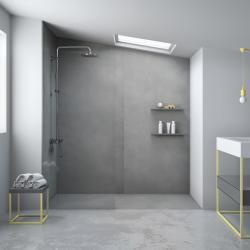 Plato de ducha textura cemento CEMENT NUOVVO - DETALLE 4