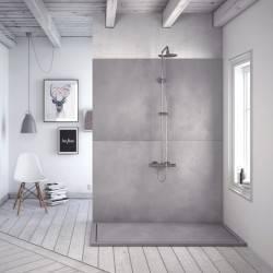 Plato de ducha de resina infiniti de Nuovvo - detalle 3
