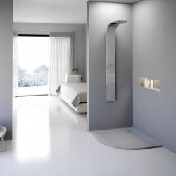 Plato de ducha semicircular CURVE de NUOVVO  - detalle 2