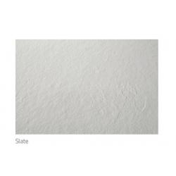Plato de ducha semicircular CURVE de NUOVVO  - textura pizarra