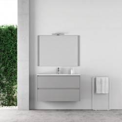 HIRO YOKO - LACADO GRIS CLARO- mueble de baño Nuovvo