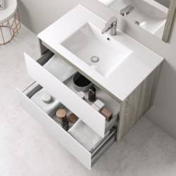 HIRO YOKO - DETALLE CAJONES ABIERTOS -- mueble de baño Nuovvo