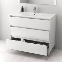 HIRU MASAI - LACADO BLANCO BRILLO  - mueble de baño