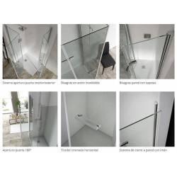 deatalle - VAROBATH 500-200 SINTESIS frontal 1 puerta plegable