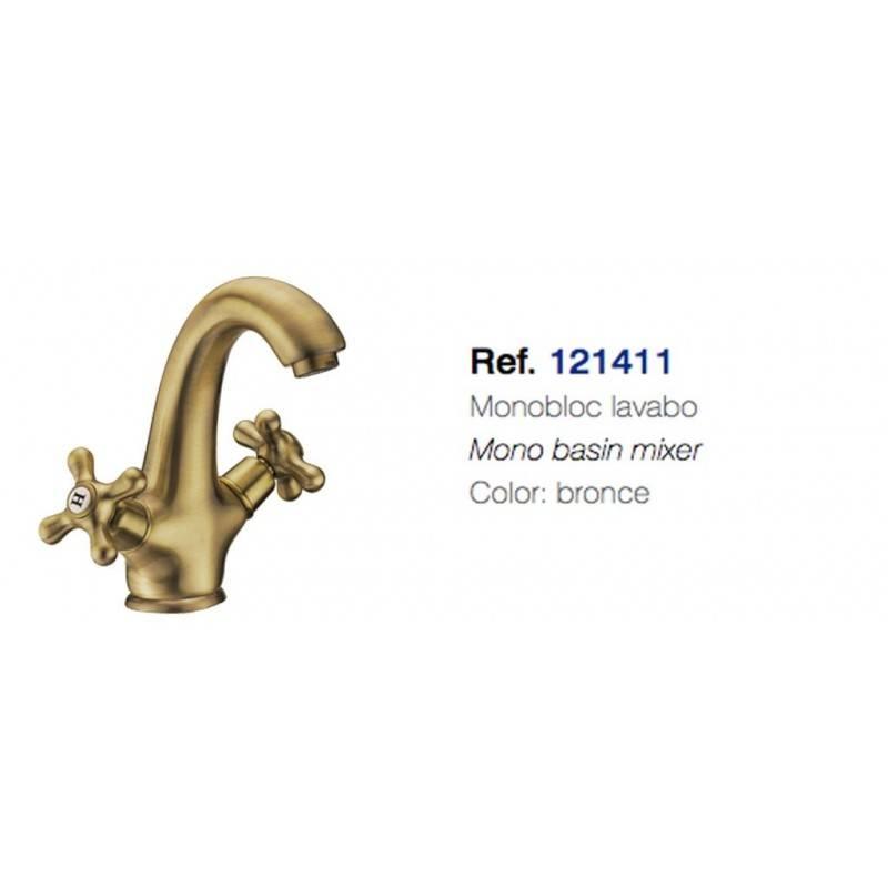 121411 classic-MONOMANDO LAVABO bronce