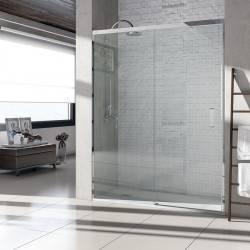 VAROBATH 100-201 basic frontal 1 fijo y  1 puerta corredera
