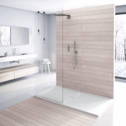 Plato de ducha NUOVVO WOOD textura madera - detalle 2