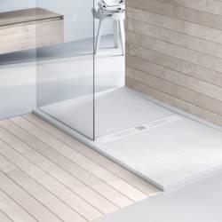 Plato de ducha NUOVVO WOOD textura madera - detalle 3
