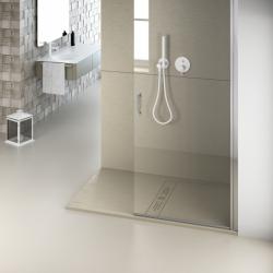 Plato de ducha NUOVVO WOOD textura madera - detalle 4