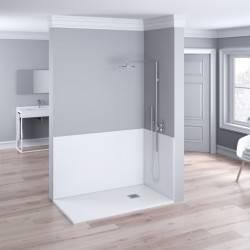 Plato de ducha resina textura granito suave SMOOTH NUOVVO - detalle 2